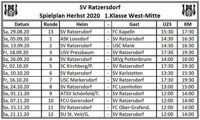 SVR-Spielplan Herbst_2020