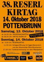 RESERLKIRTAG Pottenbrunn_2018_Plakat